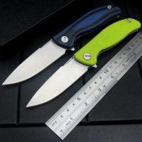 4 colori tasca Shirogorov F3 flipper coltello 9cr13mov lama G10 maniglia di caccia di campeggio piegante della lama di natale coltelli regalo di natale lame del regalo EF