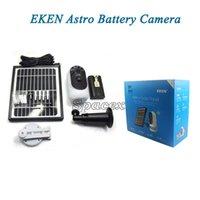 Eken original Astro 1080P Cámara Full HD con panel solar IP65 Detección de movimiento a prueba de intemperie 6000mAh Cámara de seguridad de la batería