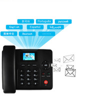 4G 3G FDD WCDMA GSM1 SIM CARD SIM Fisso Telefoni wireless Telefoni cordless FWP Lansline Dial Payphone SMS SMS IN / OUT Allarme di telemarketing