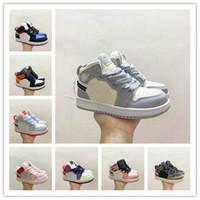 Säuglings Baby Junge Kleinkind Kinder Jumpman 1 Hohe Og Basketballschuhe Designer Kleinkindkörbe Enfants Sneakers Trainer
