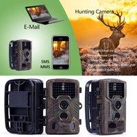 사냥 카메라 HC-800M 12MP HD 1080P 카메라 MMS GPRS SMS 무선 야생 야생 야생 동물 트랩 야간 버전 액션 카메라 1
