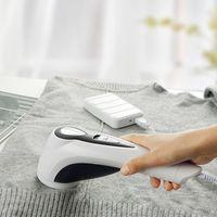 Removedor de pelusa de tela eléctrica cortinas recargables Alfombras Ropa Pilling Máquina de tela Razor Pelo Bola de pelo Trimmer Herramientas de limpieza 144 G2