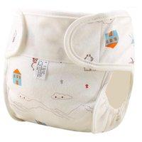 Baby Real Toile Couvre-couche Couvre-couche Couvre-couche Naturelle Réutilisable Coton Costumes Naissance à Poty Taille Taille Couche Dessinateurs Dossiers 1PC1