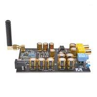 Connecteurs audio Connecteurs CSR8675 APTX HD Bluetooth 5.0 Récepteur sans fil PCM5102A I2S DAC DÉCODING SUPPORT DANS SANS SUPPORT 24BIT AVEC ANTENNA1