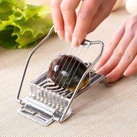 الأصلي القاطع بسيط مريحة الفولاذ المقاوم للصدأ أداة مصغرة الغذاء اكسسوارات المطبخ البيض الفاصل القطاعة قاعة الطعام جديد وصول 3 6jx k2