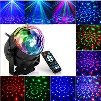 4 adet Ses Aktif Lazer Projektör LED Sahne Işıkları 3 W RGB Disko Top Lambası Parti Ev Dekorasyon Için