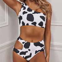 Spring Summer Beach Bikini Women Milk White Color Swimwear S...