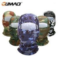 사이클링 모자 마스크 전술 Balaclava CP 하이킹 멀티 카 카 모 육군 전체 얼굴 마스크 사냥 페인트 볼 헬멧 모자 Sun1