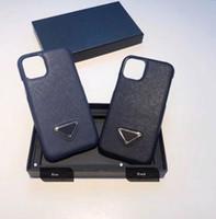 Estuche del teléfono de moda para iPhone 12/11 / 11PRO / 11PRO MAX / XR XSMAX X / XS 7P / 8P7 / 8 / Diseñadores de alta calidad Caso clásico de iPhone 2-Color