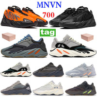 Orange 700 عاكس التعادل صبغ الثلاثي الأسود عداء الصلبة رمادي الاحذية الكربون تيل الأزرق فانتا المغناطيس الرجال النساء أحذية رياضية