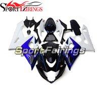 Complete Bodywork For K5 05 06 GSXR 1000 2005 2006 Suzuki GSX-R1000 Motorcycle Fairings Kit With Seat Cowl Black Blue White