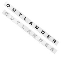 Outlander Araba Hood Mitsubishi Outlander Sport Van Phev için Ön Kafa Sticker