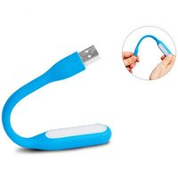 Notebook Mini Flexible USB Lamp LED portátil Super Bright Livro Light Reading Lamp Para Power Bank Computer