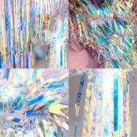 Altın Renk Işık Renkli Kapı Perde Düğün Töreni Drizzle Perdeleri Doğum Günü Partisi Arka Plan Duvar Dekoratif Makaleler 45RM4 L1