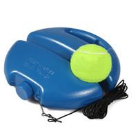 جهاز التدريب التنس مع التعلم الذاتي جهاز الكرة التدريب احدة الممارسة النفس واجب تنس انتعاش Sparsring جهاز