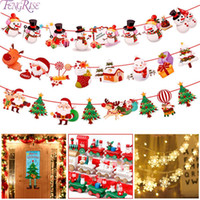 Family decorations 2019 Santa Claus Carlos banner Christmas ...
