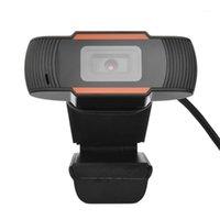 캠코더 풀 HD 1080P 컴퓨터 스트리밍을위한 풀 HD 1080P 웹 카메라 USB 카마라 캠 노트북 노트북 모니터 1
