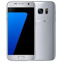 Оригинальный отремонтированный Samsung Galaxy S7 G930F G930A 5.1 дюймов Quad Core 4GB RAM 32GB ROM 12MP 4G LTE разблокирован телефон DHL 10 шт.