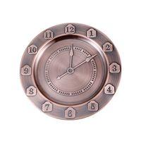 30 cm Placas de relógio Casa de aço inoxidável Bandeja de cozinha Creative Number Pratos Rose Gold Tableware 10 73HF UU