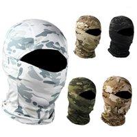 قبعات الدراجات أقنعة التكتيكية balaclava كامل قناع الوجه وشاح الألوان باندانا الجيش الصيد في الصيد كامو الرقبة gaiter1