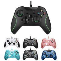 2020 Xboxone oyun kumandası pc titreşim oyun denetleyicisi ücretsiz nakliye için XBOX ONE kablolu kumanda için