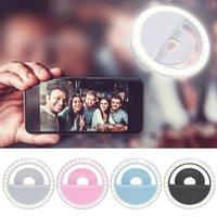 Luz de anillo Selfie para iPhone Samsung Xiaomi Lens Portable Clip
