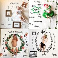 أزياء أطفال بطانيات القطن صور الدعامة البطانيات الرضع التقامة إلكتروني زهرة الرقمية الطفل ورقة السرير كيس النوم 100 * 100 سنتيمتر 16 أنماط ffe4097