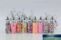 10 adet / grup Cam Rulo Satılık Şişeler Fimo Kil Püsküller Parfüm Şişesi Roll-On Temel Yağlar Şişe