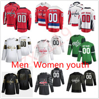 Washington Capitales Jerseys Alex Ovechkin Jersey Tom Wilson T.J. Oshie Braden Holtby Devante Smith-Pelly Hoe Hockey Jerseys Custom Steinsted