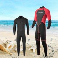2mm da uomo Muta da uomo a maniche lunghe a maniche lunghe secco protezione solare tuta da surf tagliente Wet Wetsuit