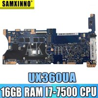 Achemy Top Configuration Laptop Scheda madre per Asus Q324UAK Q324UA Q324U UX360UA Mainboard 60NB0C00-MB8000 16 GB RAM -7500 CPU1