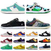Nike SB Dunk Low 2020 Stock SB x Dunk Pro Platform Chaussures de course Kasina Chunky Dunky Be @ RBrick Community Jardin Civilist Sashiko Mens Entraîneurs Femmes Sneakers