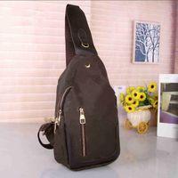 مصمم حقيبة كروسبودي الصدر حقيبة الكتف المرأة الرجال مصمم أكياس محفظة طباعة إلكتروني 2021 نمط جديد جودة عالية حقيبة الكتف