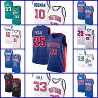 DetroitPistonesJersey Grant Dennis Hill Rodman Isiah Derrick Thomas Rose WashingtonMagosJersey Russell 4 Westbrook