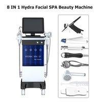 Multifunzionale cura della pelle del viso bellezza dermoabrasione dispositivo / acqua in bellezza idro macchina microdermoabrasione