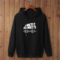 2020 осень зима толстовки арктические обезьяны звуковые волны печатные флисовые толстовки с длинным рукавом пуловеры женские хип-хоп толстовка X1021
