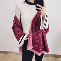 Luxury-20 Дизайнер зимой шарф кашемира пашмины мужчин и мода двойной износ термоодеяла женские шарфы шарфы кашемир cotton2020
