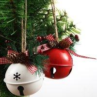 pingente ornamento do Natal Decorações Do Natal Ferro Árvore pequeno pingente Ferro Bell grande presente para crianças w-00404