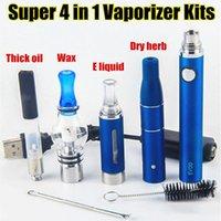 MT3 EVOD 4 in 1 Starter Kit EVOD Starter Kit eGo Kits E Cigarette Ecig 650mAh 900mAh 1100mAh batteria EVOD Atomizer Vape