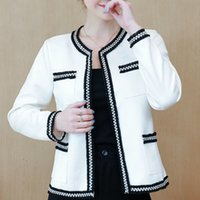 여성 자켓 패션 플러스 사이즈 가을 자켓 여성 긴 소매 화이트 코트 여성 Jacekts 코트와 재킷 여성 B888 201013