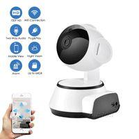 720p Mini WiFi IP Camaras de Seguridad CCTV Inalámbrico Inicio Vigilancia Visión nocturna Cámara Seguridad Niñera Cam