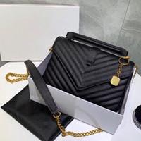 Luxus Mode Marke Designer Klassische Großkapazität Flip Brieftasche Leder Handtasche Lady 3a + Hohe Qualität Leder Umhängetasche Messenger Bag