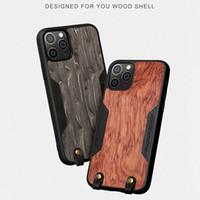La caja del teléfono para el iPhone 12 11 mini-XR 7 8 más 2 SE naturaleza respaldo de madera cubierta de la cáscara logotipo personalizado Pro MAX XS