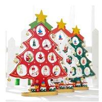 F2 regalos de navidad decoraciones de fibrosidad Mini árbol de la moda de escritorio Disposición ornamento de la escena Festival de bricolaje Adornos envío 18ll