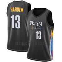 بروكلينNet James 13 Harden Kyrie رجل 11 Irving 2021 جديد كرة السلة جيرسي كولين 2 Sexton Lamelo 2 Ball Gordon 20 Hayward