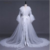 Womens Sexy Bathrobe wedding pajamas women autumn long bride...
