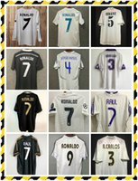 Retro 2010 11 12 Real Madrid Soccer Jersey Guti Ramos McManaman 13 14 15 Ronaldo Zidane Beckham 06 07 Raul Robinho 1999 2000 94 95 96