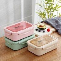 Tuuth Microwave الغداء مربع BPA مجانا شبكات متعددة بينتو مربع استخدام لطلاب مكتب أطفال حاوية الطعام المحمولة مربع 201209