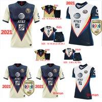 고품질 2021 아메리칸 클럽 성인 축구 셔츠 F. Venus 헨리 라 리가 MX Rodriguez 미국 골키퍼 Giovanni 남성 셔츠