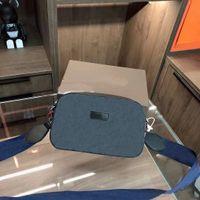 2021 Новая женская классическая печатная камера сумка красный и синий широкий универсальный Унисекс мужчины женские сумки ремень мужская монная сумочка плечевой уклон
